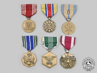 United States. A Lot of Six Army Awards