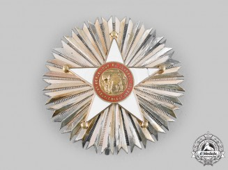 Senegal, Republic. A National Order of the Lion, I Class Grand Cross Star, c.1960