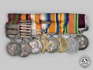 United Kingdom. An Indian Theatre, Boer War, First War & Second War Group, to Rifleman/Sergeant John S. Smith, Royal Irish Rifles
