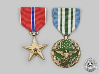 United States. Two Achievement Awards