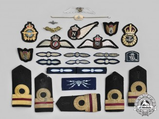 Canada. A Lot of Twenty-Three Air Force and Navy Insignia
