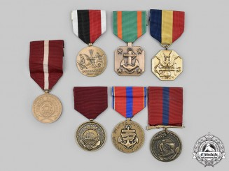 United States. A Lot of Seven Navy, Marine Corps and Coast Guard Awards