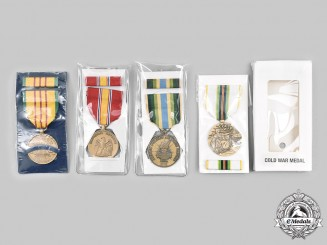 United States. Lot of Four Packaged Medals