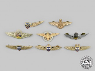 Argentina, Colombia, Peru, Venezuela. A Lot of Eight Air Force Badges