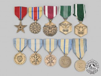 United States. A Lot of Ten Armed Forces Awards