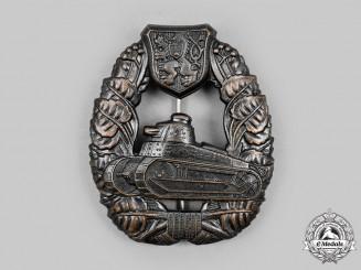 Czechoslovakia, Republic. A Tank Assault Crew Badge