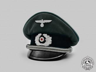 Germany, Heer. An Administration Officer's Visor Cap, by Erel