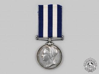 United Kingdom. A Egypt Medal 1882-1889, to James Holdaway, Ward Room Officer's Servant, HMS Euphrates