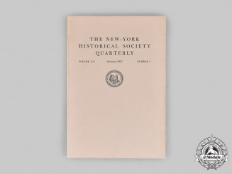United States. The New-York Historical Society Quarterly, No. 1, Volume 41