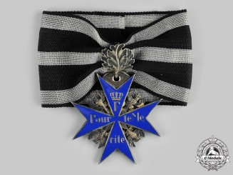 Prussia, State. A Pour Le Mérite with Oakleaves, by Godet, c.1925