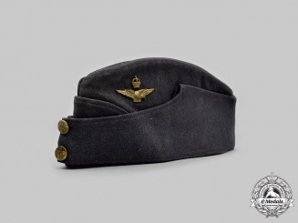 Canada, Commonwealth. A Royal Canadian Air Force (RCAF) Officer's Side Cap