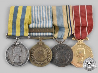Canada. A Korean War & Suez Crisis Group, to Corporal Ivan Peter Clark