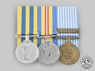 Canada. A Korean Conflict Group, Royal Canadian Regiment