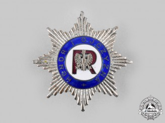 Poland, Republic. An Association of Reservists Badge