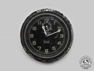 Italy, Kingdom. A Second World War-Period Radio Clock, by E. Boselli