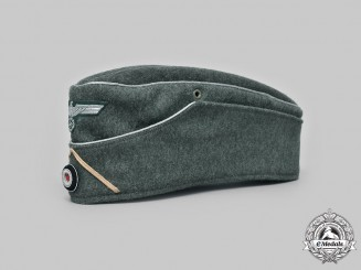 Germany, Heer. An Infantry Officer's M38 Overseas Cap