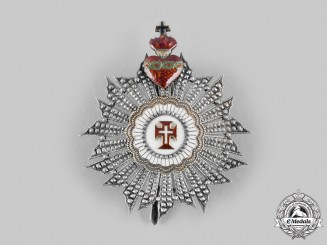 Portugal, Kingdom. A Military Order of Christ, Type I, Commander's Star c.1900