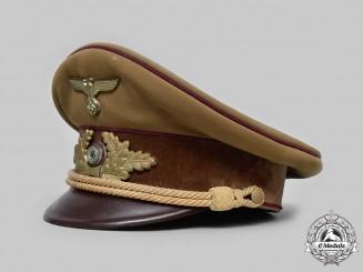 Germany, NSDAP. A Political Leader's Visor Cap, Gau Level