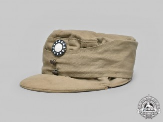 China, Republic. An Army Cap, c. 1943