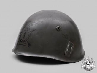 Italy, Kingdom. An Alpini M33 Steel Helmet, c. 1936 Issue