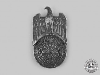 Spain, Fascist State. A National Service Medal of Information and Research of the JONS, No. 220, c.1930