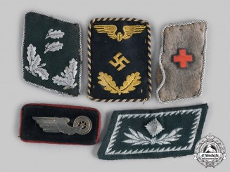 Germany, Third Reich. A Lot of Collar Tabs