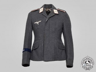 "Germany, Luftwaffe. A 1st Fallschirm-Panzer Division ""Hermann Göring"" Unteroffizier's Tunic, George Petersen Collection"