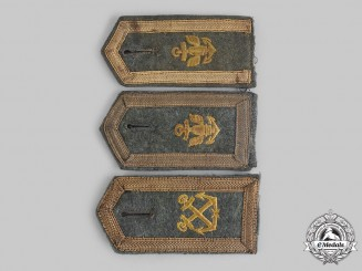 Germany, Kriegsmarine. A Lot of Shoulder Boards with Career Insignia