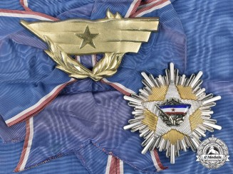 Yugoslavia, Republic. An Order of the Yugoslav Flag, Grand Cross, c. 1965