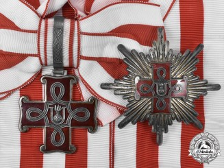 Croatia, Independent State. An Order of Merit, Grand Cross Set, c. 1943