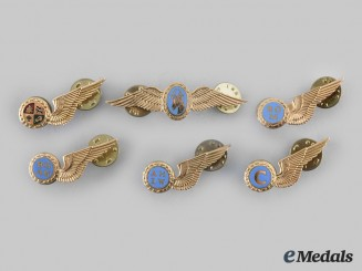 South Africa, Republic. Six South African Air Force Badges