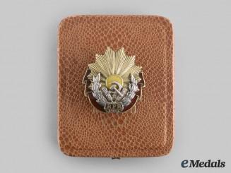 Romania, Republic. An Order of Labour, I Class to Vinea Emanoil, c. 1955