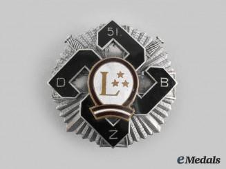 Latvia, Republic. A 51 Infantry Battalion Badge
