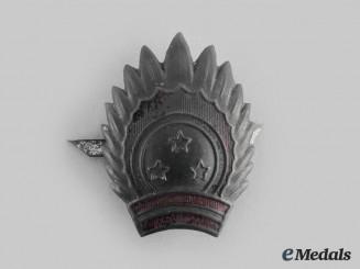 Latvia, Republic. A National Guard Cap Badge