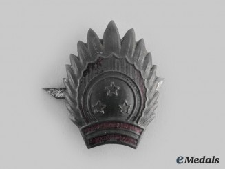 Latvia, Republic. A National Guard Cap Badge