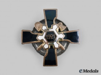 Latvia, Republic. An Engineer/Pioneer Regiment Badge, c.1930