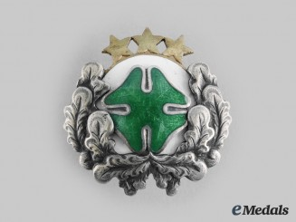 Latvia, Republic. A Mazpulki (Out-of-School Youth Organization) Badge, by O. PERKON