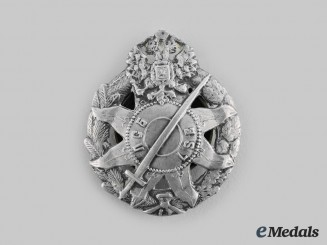 Latvia, Republic. A Latish Shooting Battalion (LSB) Badge