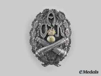 Latvia, Republic. An Army Regimental Badge, c.1921