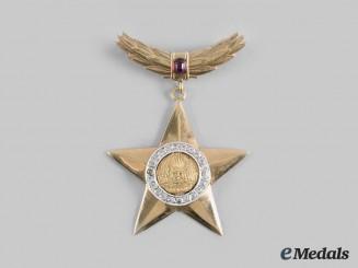 Romania, Socialist Republic. A Hero of the Socialist Republic of Romania in Gold