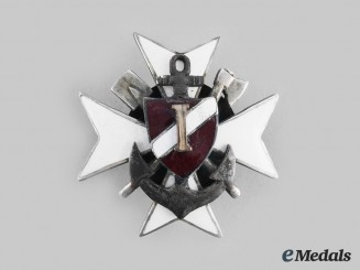 Latvia, Republic. A Naval Badge