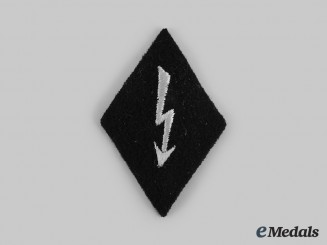 Germany, SS. A Signals Personnel Sleeve Diamond