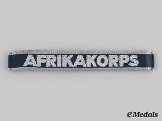 Germany, Wehrmacht. An Afrika Korps Cuff Title