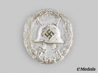 Germany, Wehrmacht. A Wound Badge, Silver Grade, First Pattern
