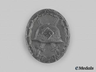 Germany, Wehrmacht. A Wound Badge, Silver Grade, by Steinhauer & Lück