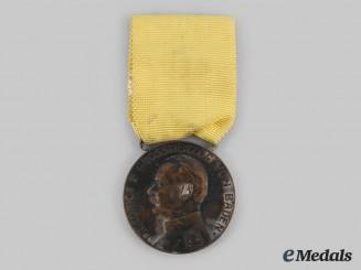 Baden, Grand Duchy. A Friedrich II Merit Medal, Silver Grade, by Rudolf Mayer