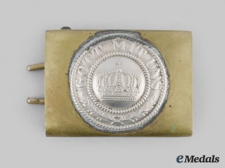 Germany, Imperial. A Heer Belt Buckle, Reduced Size