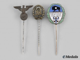Germany, Third Reich. A Lot of  Membership Stickpins