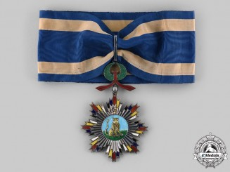 China, Republic. An Order of the Striped Tiger, III Class Commander, c. 1915