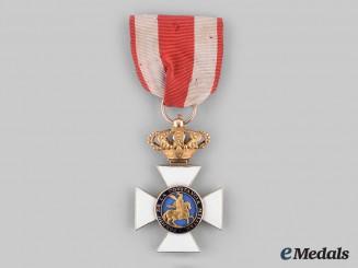Spain, Kingdom. A Royal & Military Order of St. Hermenegildo, Knight in Gold, c.1975